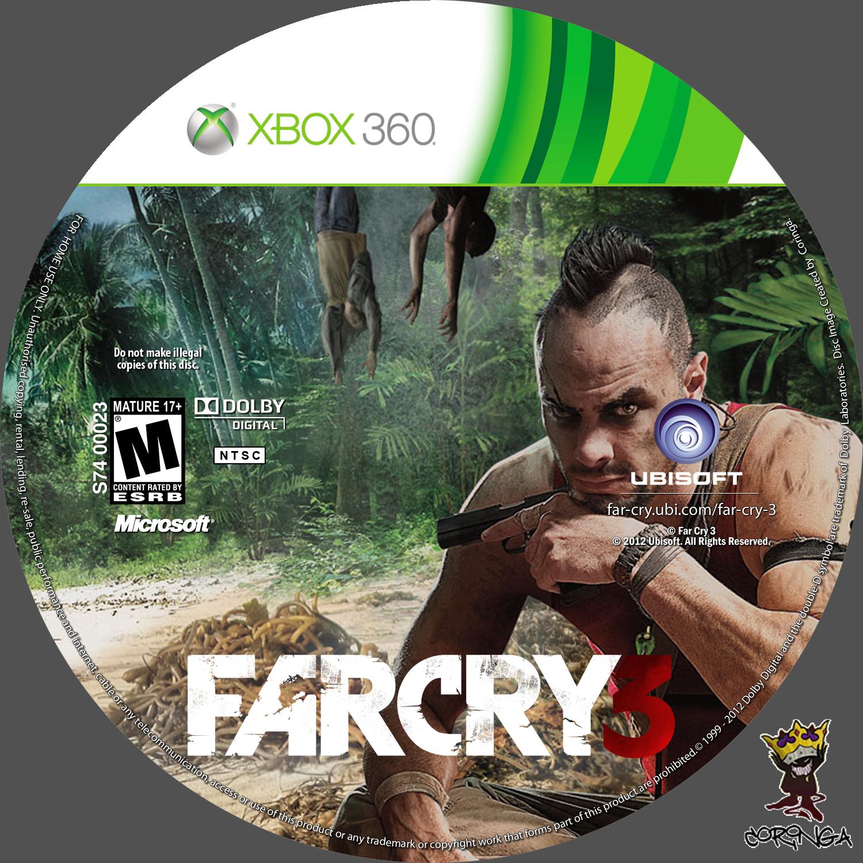 Label FarCry 3 Xbox 360 - Gamecover | Capas customizadas ...
