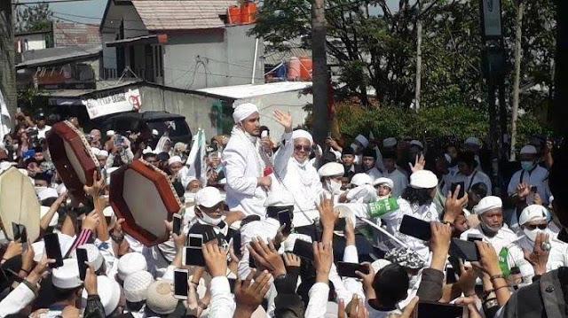 Kegiatan Megamendung Naik ke Penyidikan, Polda Jabar Akan Panggil Habib Rizieq dan Pejabat Pemkab Bogor