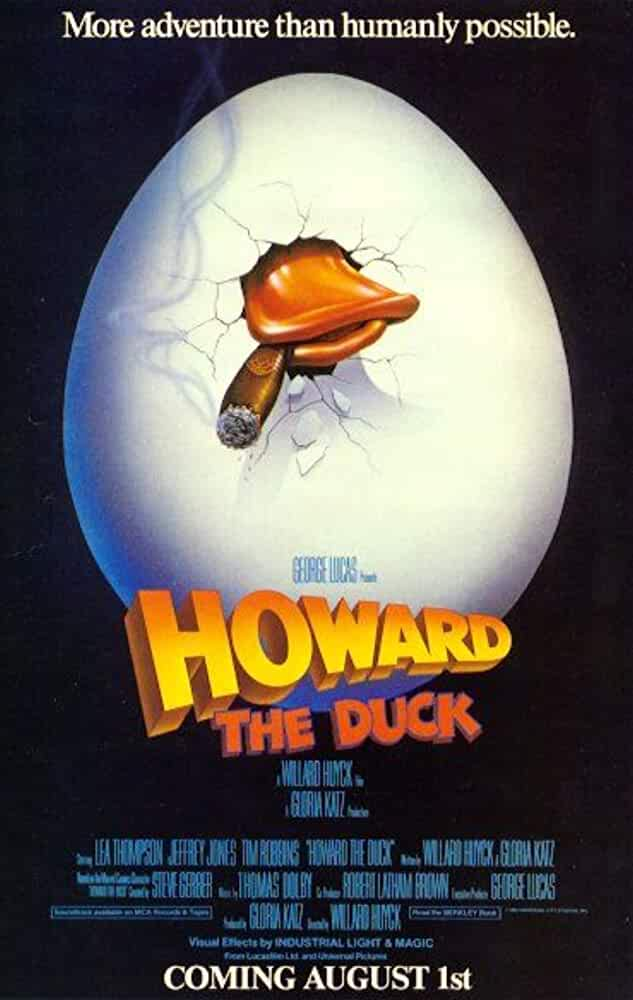 Howard the Duck 1986 x264 720p Esub BluRay Dual Audio English Hindi Sadeemrdp GOPI SAHI