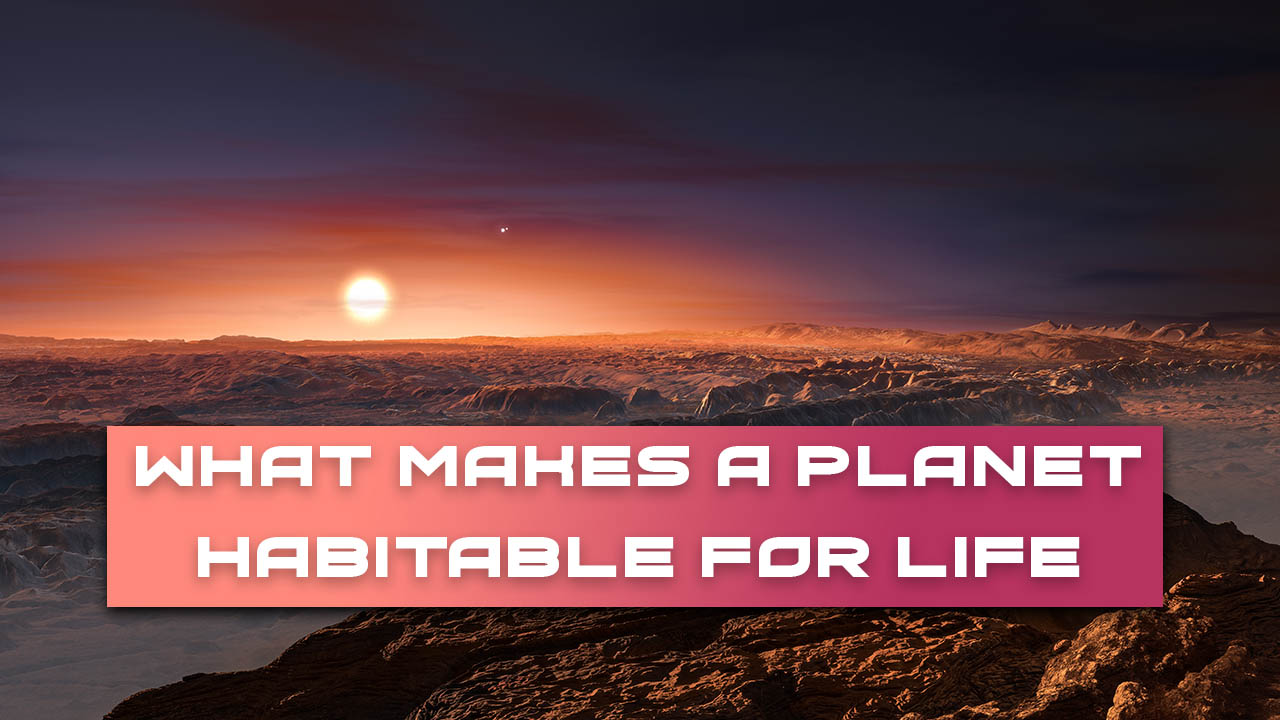 What Makes a Planet Habitable for Life