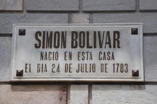 Casa de Simón Bolívar en Caracas