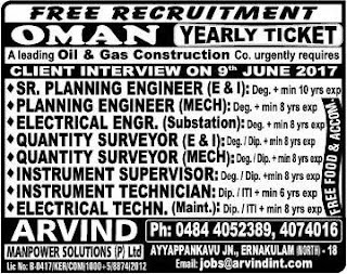 Oil & Gas Construction jobs - Free recruitment