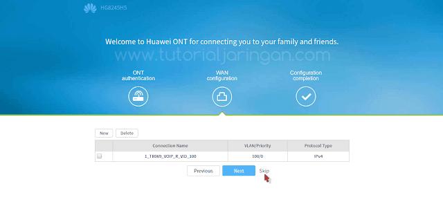 Tutorial Cara Setting Modem ONT Huawei HG8245H5