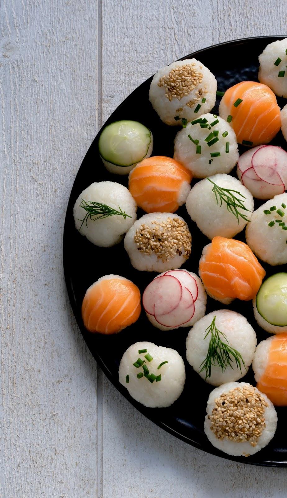 sushis , sushis maison , plateau télé idée originale