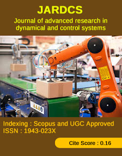 Journal of Advanced Research in Dynamical and Control Systems (JARDCS)