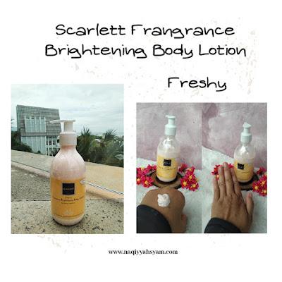 scarlett -fragrance-brigtening-body-lotion -freshy