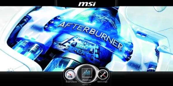 تنزيل أداة تسريع الكمبيوترmsi afterburner
