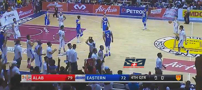 Alab Pilipinas eliminates Hong Kong Eastern, 79-72 (REPLAY VIDEO) Semis Game 2 | April 15