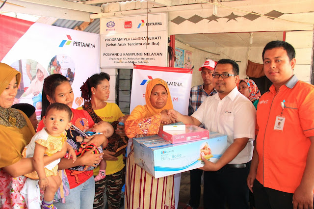 Program Pertamina Sehati di Kampung Nelayan