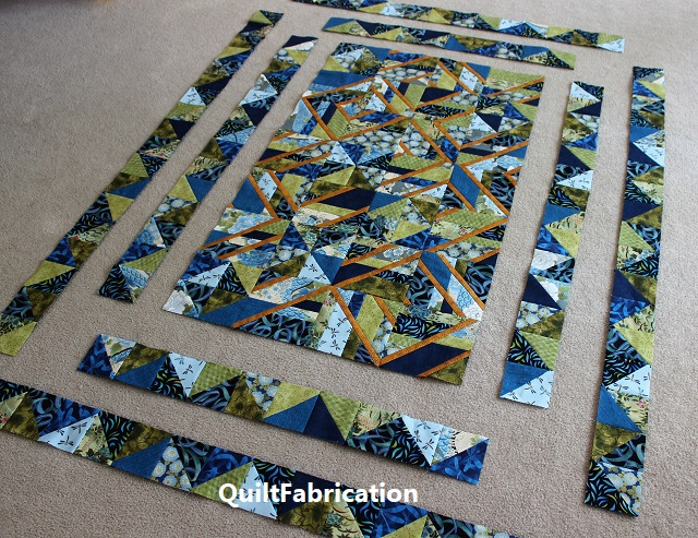 Use It Up quilt top progress
