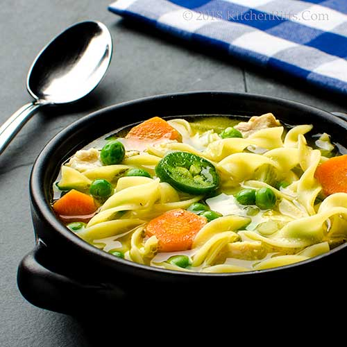 Asian-Spiced Chicken Noodle Soup