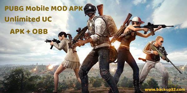 تحميل لعبة PUBG Mobile MOD APK احدث اصدار - غير محدودة - Unlimited UC