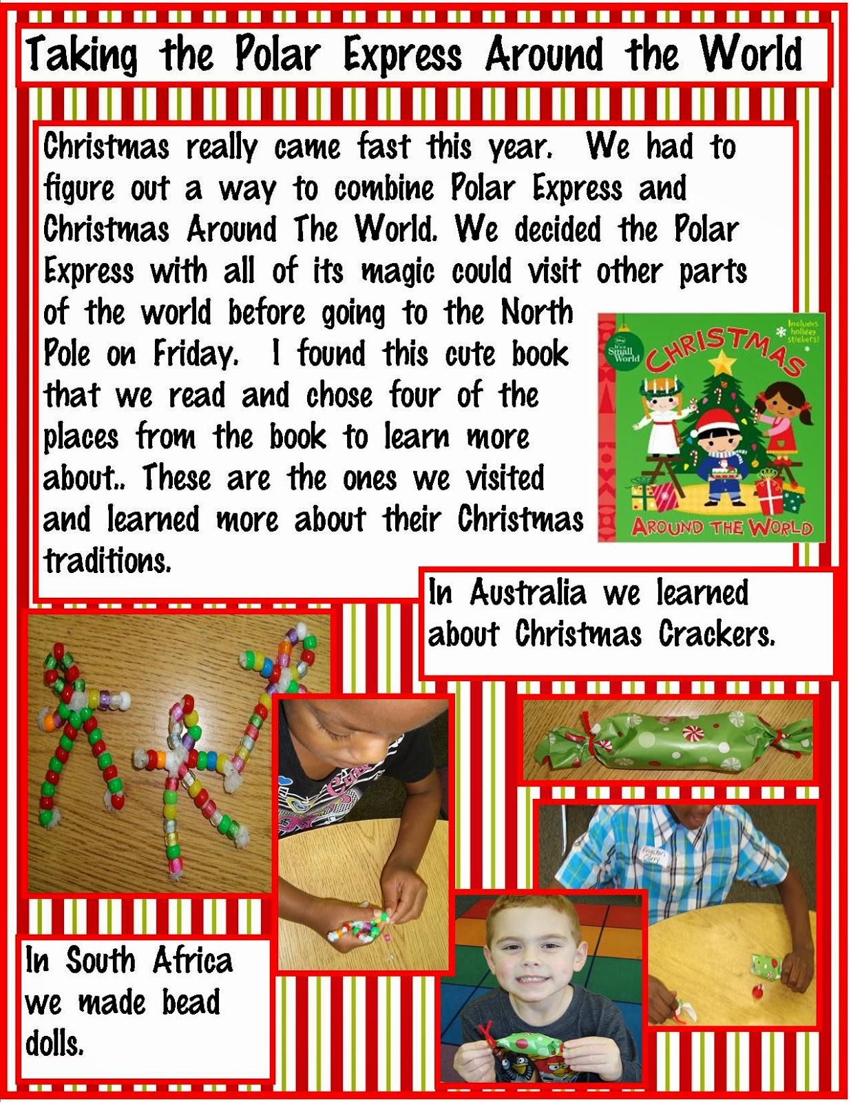 Golden Gang Kindergarten Taking The Polar Express Around