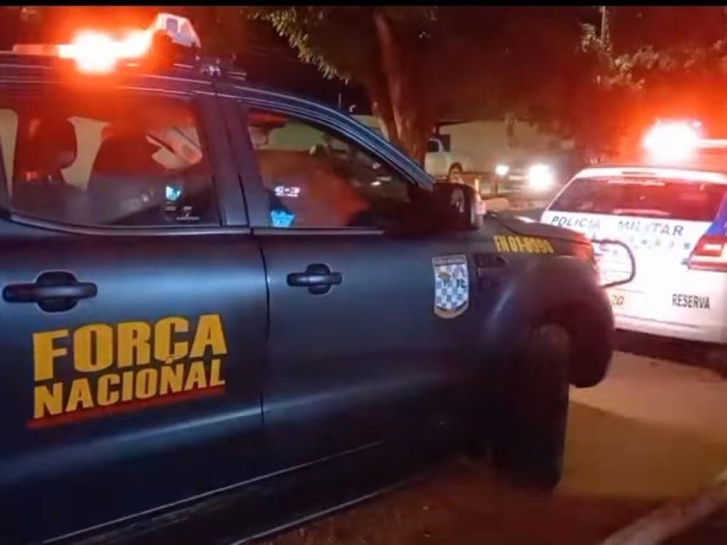 Policial da Força Nacional é baleada após troca de tiros com assaltantes