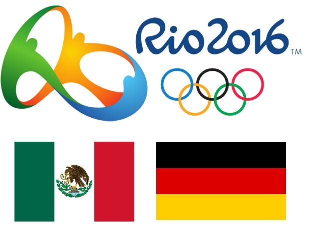 Trasmision en vivo Mexico vs Alemania futbol juegos olimpicos