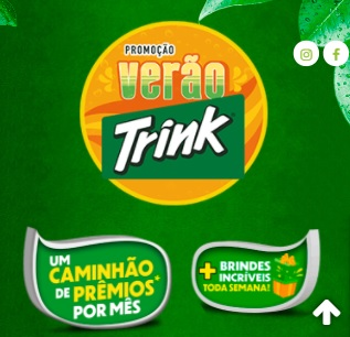 Cadastrar Promoção Verão Trink 2020 2021 Caminhão Prêmios Todo Mês e Brindes Toda Semana