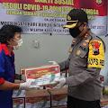 May Day, Polres Purbalingga Salurkan Bantuan untuk Buruh Terdampak Covid-19