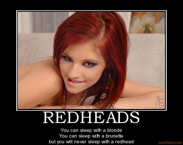 Image Redheads Sexy Redhead Demotivational Pos
