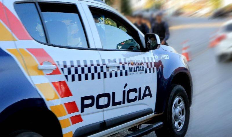 Motorista se descuida e causa acidente no centro de Nobres