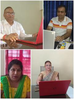 Report: -Sanjeev Sipaulya...   बीकेडी एल्ड्रिच पब्लिक स्कूल ने शुरू की ऑनलाइन क्लासेस -प्रबंधक इं अजय इटोरिया  BKD Aldrich Public School started online classes - Manager in Ajay Itoria