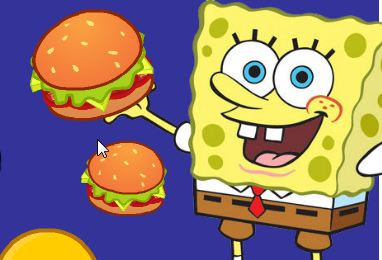 SpongeBob Cannon Hamburger