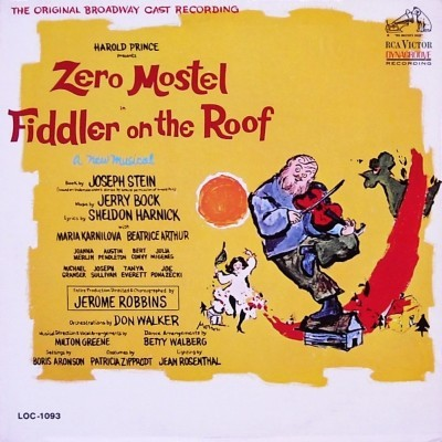 Music Is The Best Fiddler On The Roof The Original