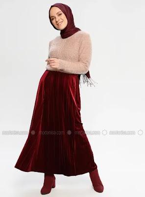 robe femme voilée 2019