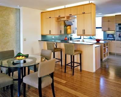 Model Gambar Desain Interior Rumah Kayu Modern Terbaik