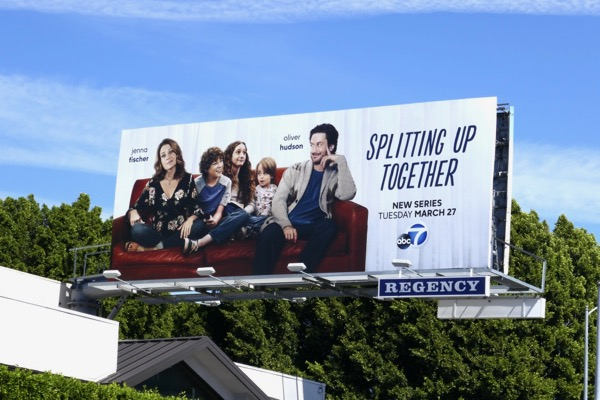 Splitting Up Together billboard