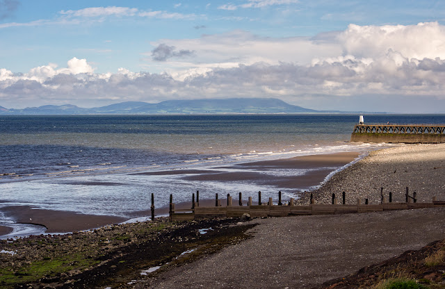 Photo of looking the other way along the shore at Maryport