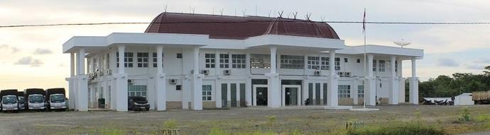 Gedung kantor bupati Kabupaten Nias Barat
