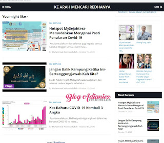Review Blog | Ke Arah Mencari RedhaNya