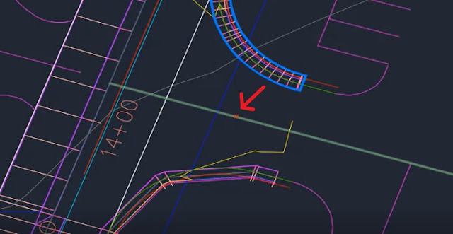 Select elevation target in Autodesk Civil 3D
