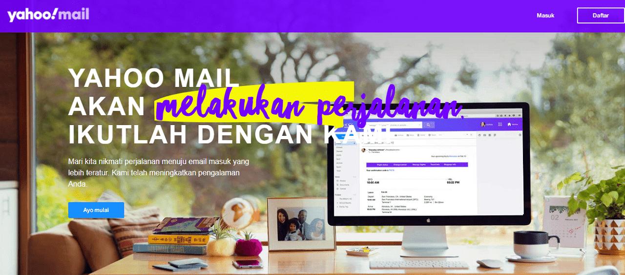 Yahoo Mail penyedia layanan email gratis