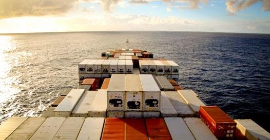 Viajar em navio de carga