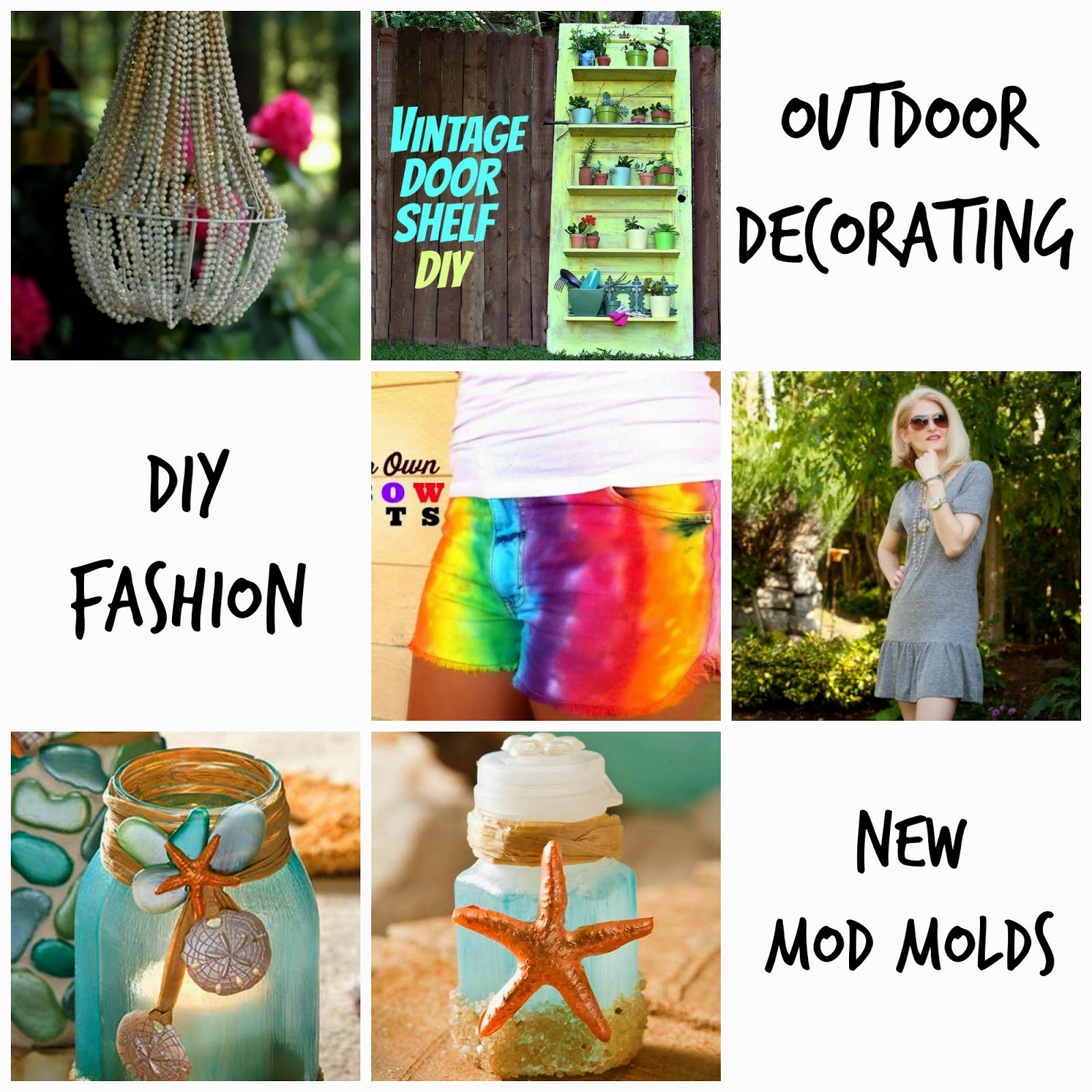 Cathie Filian 6 Diy Ideas For Summer Fashion Outdoor Decorating
