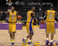 Los Angeles Lakers Jersey Mod for NBA 2K13 PC