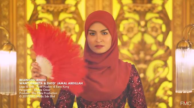 Lirik Lagu Wany Hasrita dan Dato' Jamal Abdillah - Belenggu Rindu