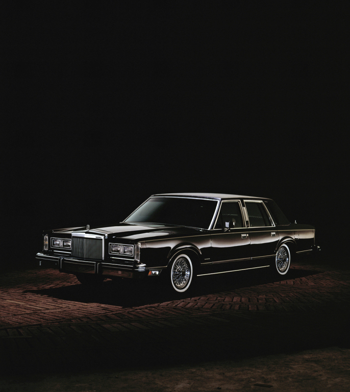 1980 Lincoln Continental Town Car Grandes Motores