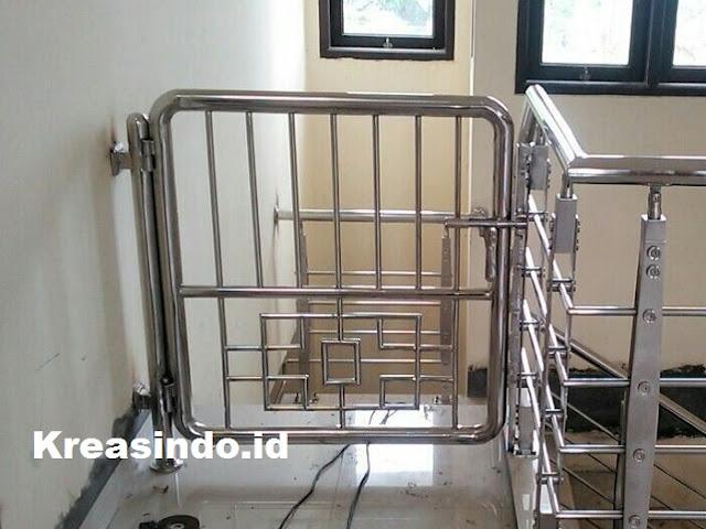 Jasa Pembuatan Pintu Tangga Stainless untuk Wilayah Tangerang Sekitarnya, Kualitas No. 1