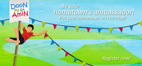 DOON PO SA AMIN: BE YOUR HOMETOWN'S AMBASSADOR AND WIN P50,000.00
