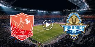 مشاهدة مباراة بيراميدز وحوريا بث مباشر بتاريخ 20-10-2020 في كأس الكونفيدرالية الأفريقية