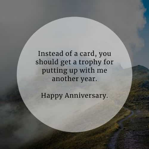 Happy anniversary quotes and wedding anniversary messages