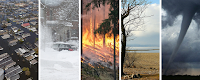 Weather and climate disasters (Credit: NOAA/NCEI) Click to Enlarge.