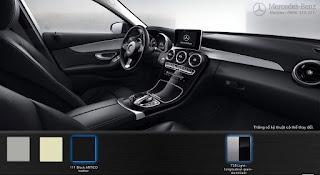 Nội thất Mercedes C200 2018 màu Đen 101