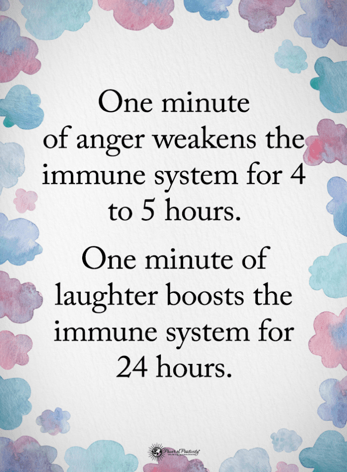 One Minute Of Anger Weakens The Immune System For 4 To 5 Hours Anger Quotes 101 Quotes