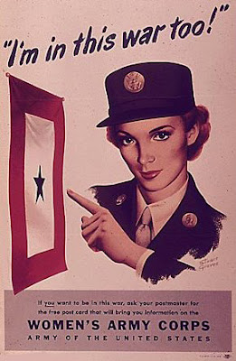 Anuncios mujeres en la Segunda Guerra Mundial