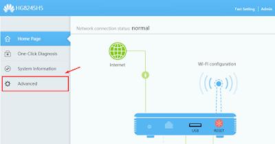 Cara Membatasi Jumlah Pengguna Wifi Kita Huawei HG8245H5