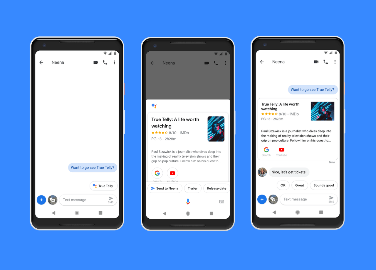 Google Assistant is soon coming to Android Messages