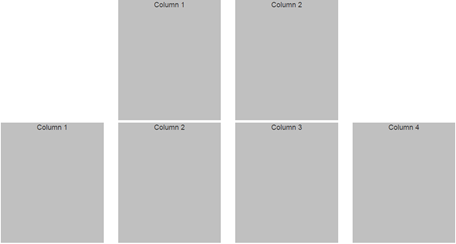 bootstrap offset column example